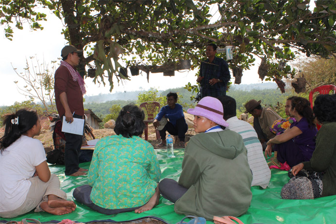 5.Land Disputes Investigation Mission in Thmorda Pursat Province L
