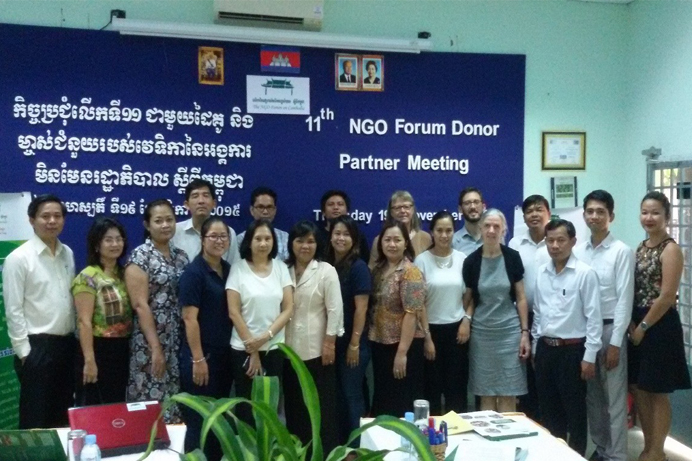 The NGO Forum 11th Donor Meeting top