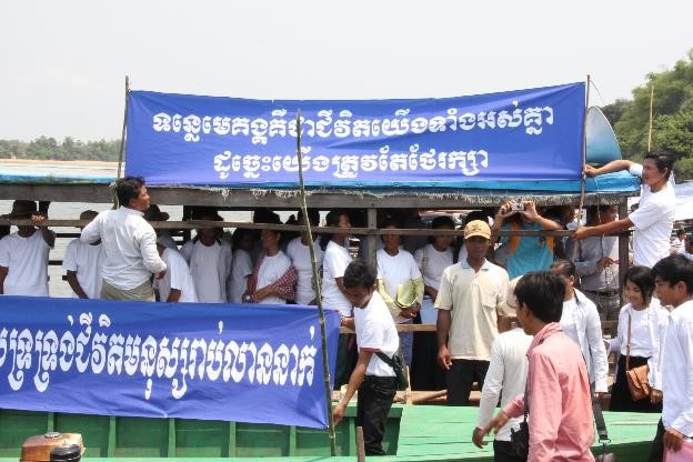 Community Local Authorities and CSOs Say NO to Don Sahong Dam