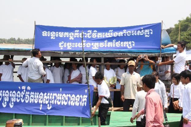 Community Local Authorities and CSOs Say NO to Don Sahong Dam