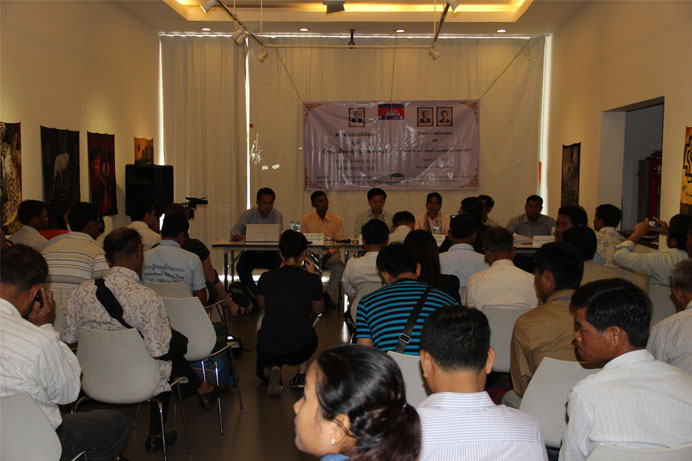 CSOs and Communities Concern on Illegal Logging and Natural Resource Destruction in CambodiaCSOs2