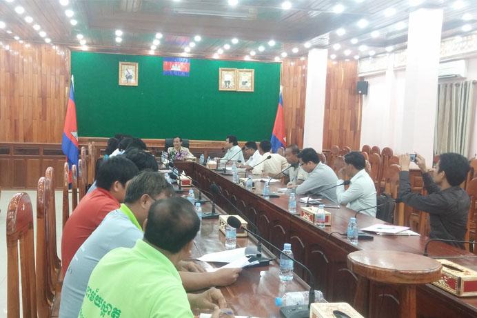 3 IPFN Raises Concerns on Deforestation and Land Grabbing to Mondulkiri Authority1