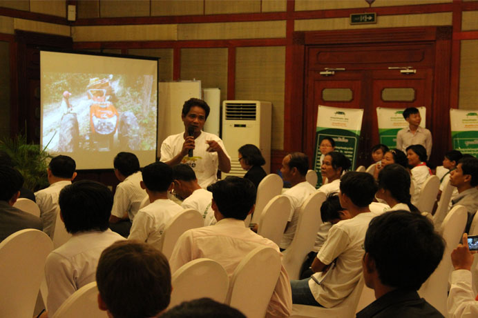 Government NGOs  Communities Meet to Seek for Solution on Prey Lang Deforestation ENG Bottom