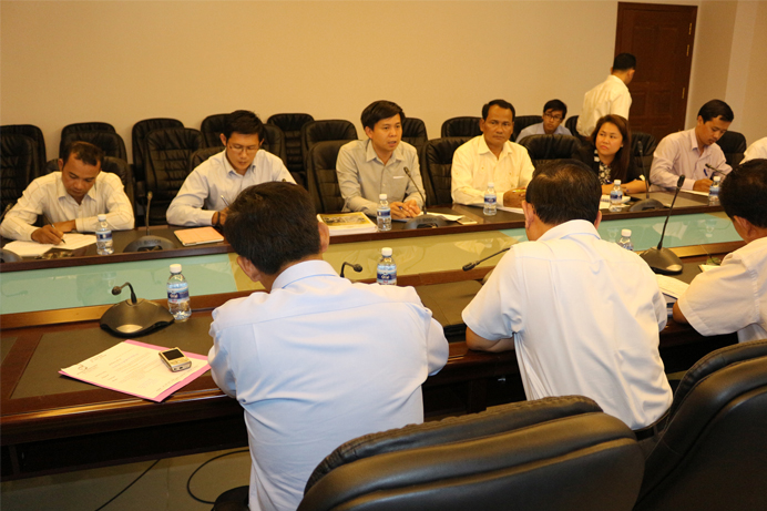 NGOs and MLMUPC on a 2nd Quarterly Meeting to Update Land Working Progress in Cambodia butt