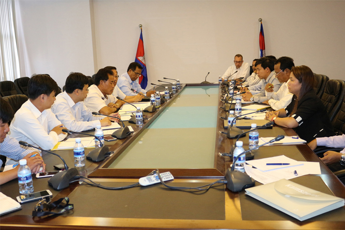 NGOs and MLMUPC on a 2nd Quarterly Meeting to Update Land Working Progress in Cambodia top