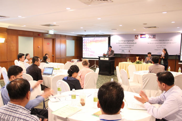 The NGO Forum Training to Improve CSOsNGOs Capacity on Budget Analysis and Advocacy top
