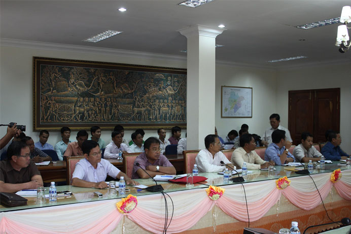 Indigenous Peoples and Forestry Network  Member meeting in Preah Vihear Bott