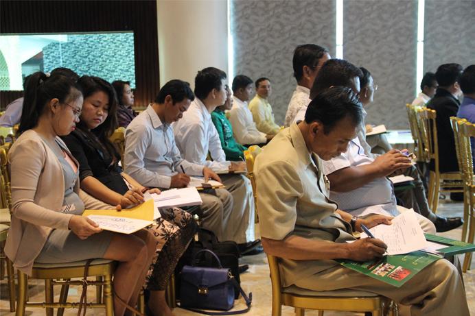 2. Launching Report of Statistic Analysis on Land Dispute Cambodia 2014 bottom