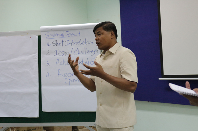 Providing Negotiation Skill for Advocacy Effort for NGOs and Communities bottom