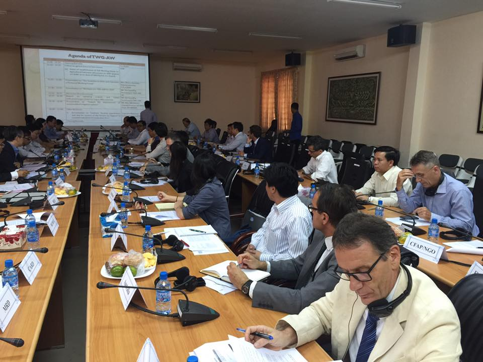 The meeting of Technical working group on agriculture and water002