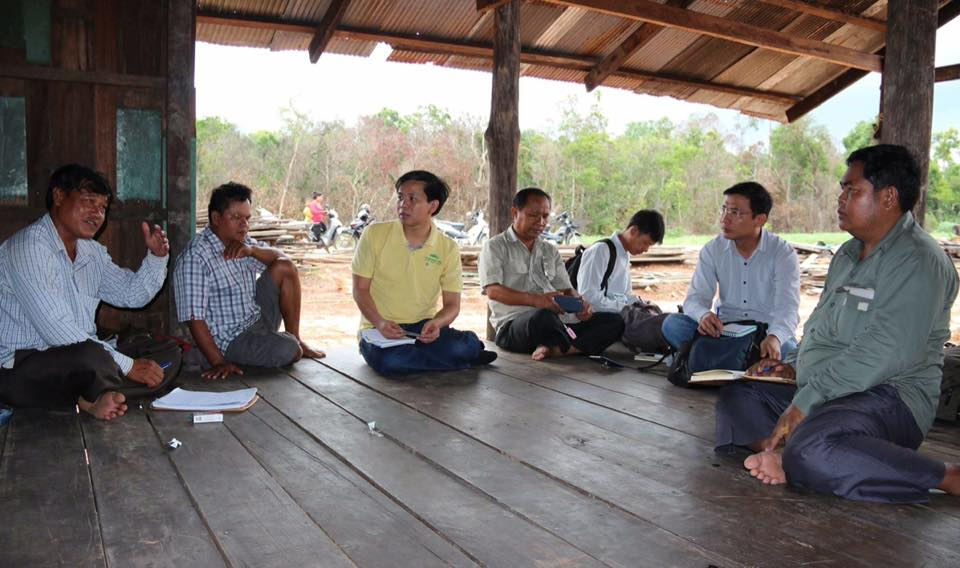 Field visiting affected communities in Koh Kong province003