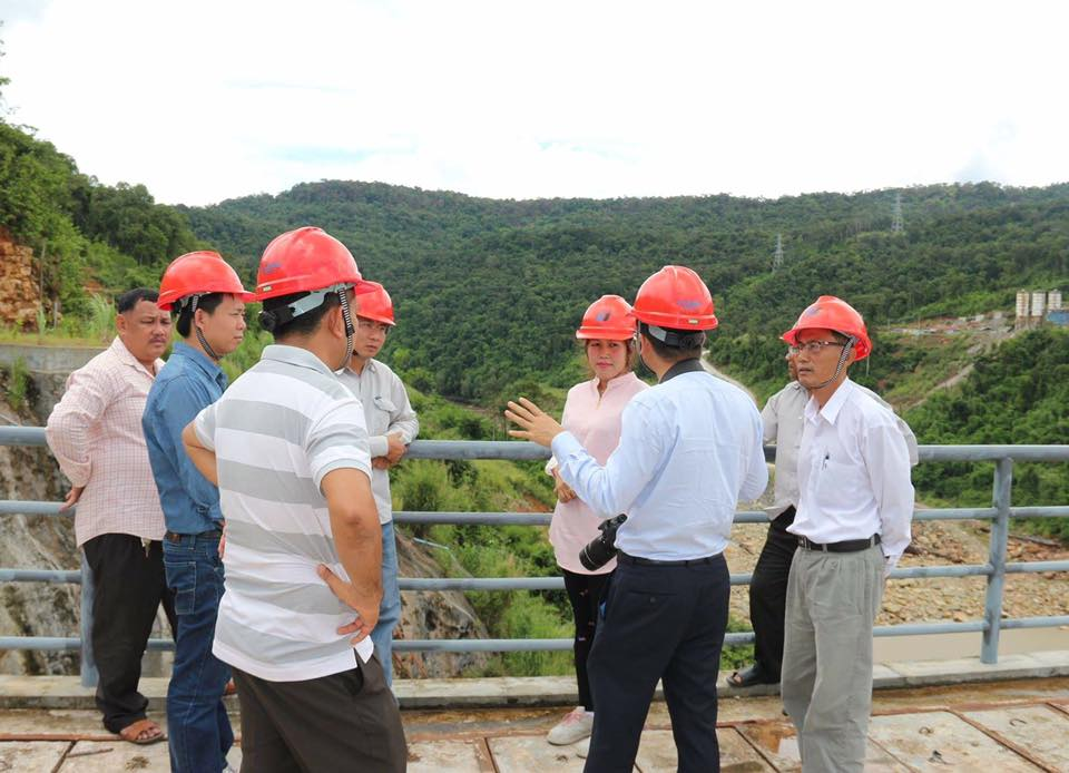 NGO exposure visit to China Huadian Lower Stung Russei Chrum Hydro002