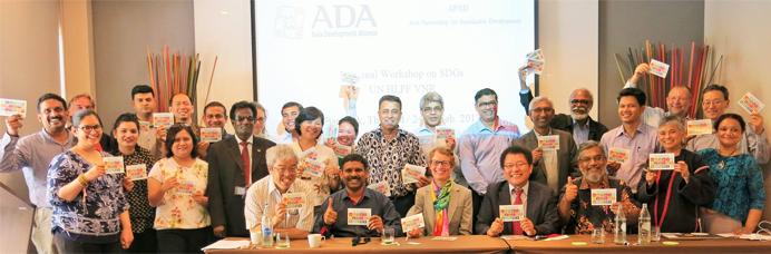 Regional WS on National Implementation of SDGs-1