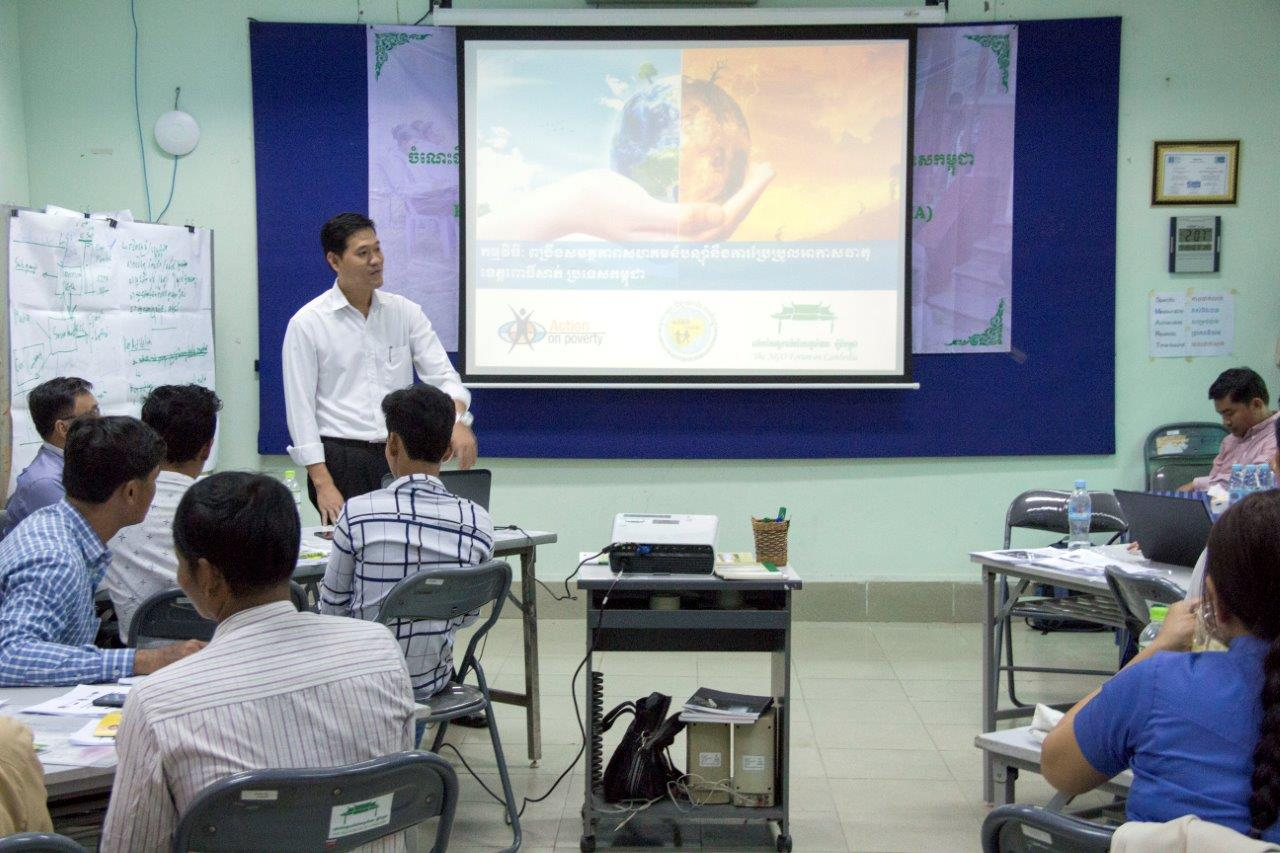 National Learning Workshop Promoting Climate Resilient Communities for Cambodia 3