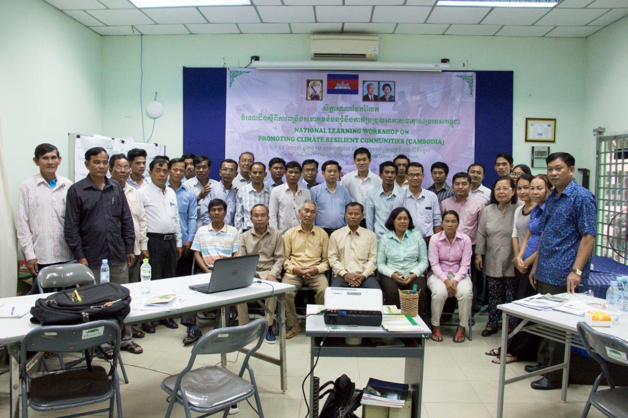 National Learning Workshop Promoting Climate Resilient Communities for Cambodia 4