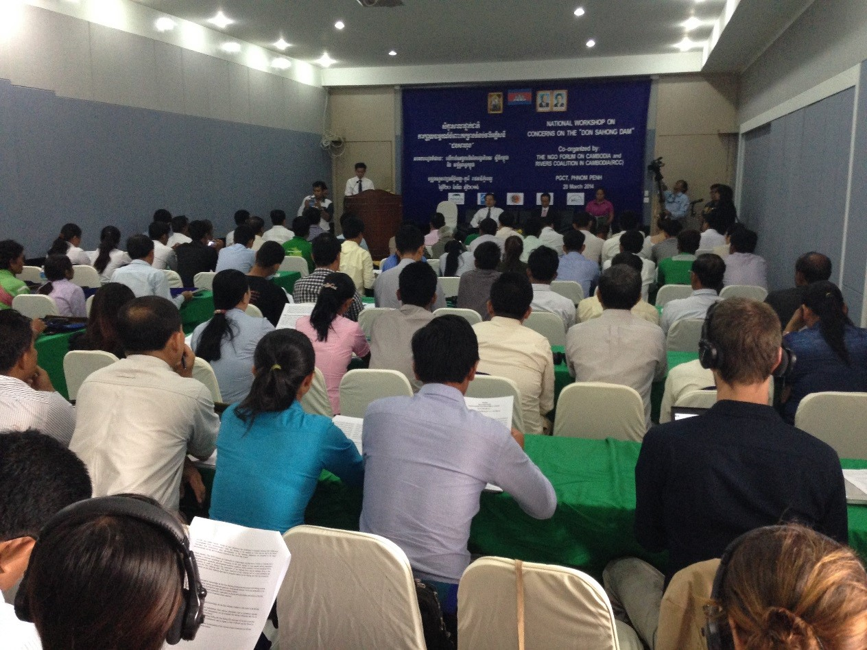 Don Sahong Dam Development Project is a Risk to Cambodia
