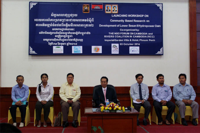 The Success Launching of Community Based Research on Lower Sesan II Dam Development - Final