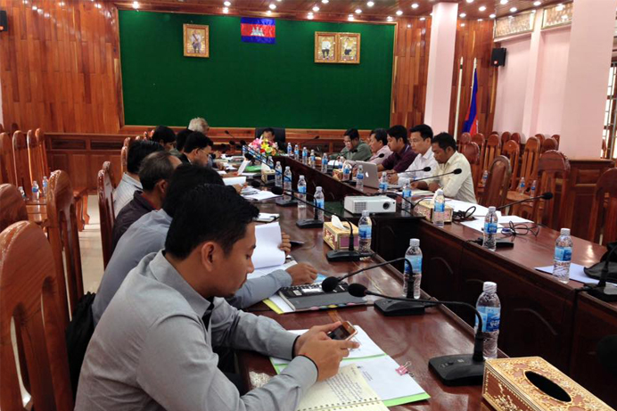 Meeting with MDK Governmor report on Chak Char - 2015 top