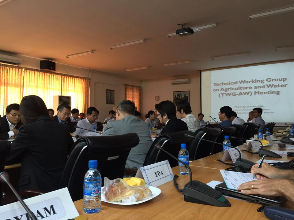 The meeting of Technical working group on agriculture and water001